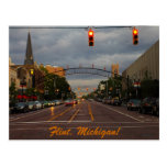 Downtown Flint, Michigan Post Card