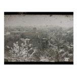 Downtown Frankfort, Kentucky in Winter Postcard
