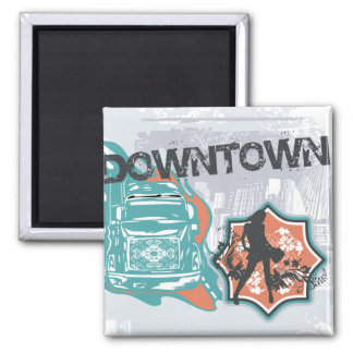 Downtown Graphic Tshirts and Gifts Refrigerator Magnet