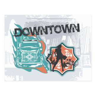 Downtown Graphic Tshirts and Gifts Postcard