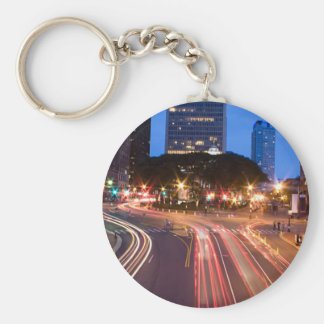 Downtown Hartford CT Keychain