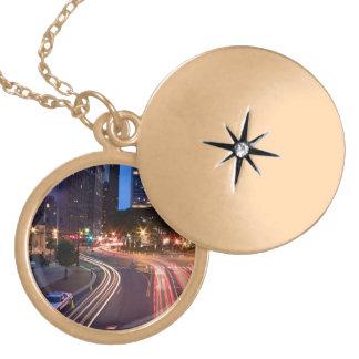 Downtown Hartford CT Locket Necklace