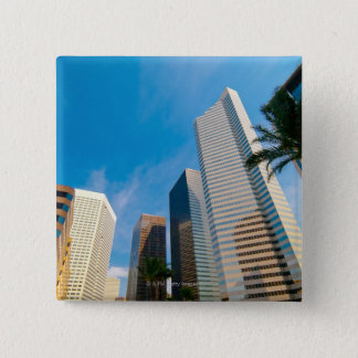 downtown high rise buildings in Houston, Texas, Button