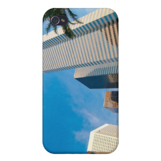 downtown high rise buildings in Houston, Texas, iPhone 4/4S Case