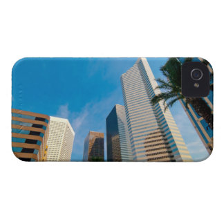downtown high rise buildings in Houston, Texas, iPhone 4 Case