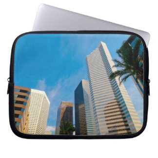 downtown high rise buildings in Houston, Texas, Laptop Sleeve