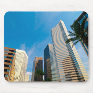 downtown high rise buildings in Houston Texas Mousepad