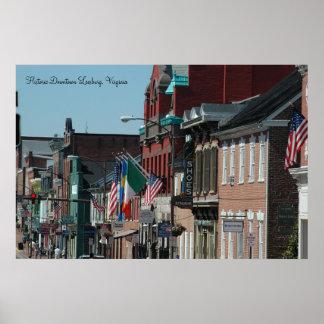 Downtown Historic Leesburg, Virginia Print