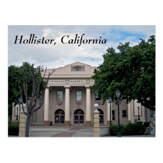 Downtown Hollister California Post Card