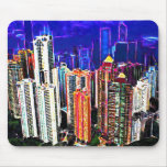 Downtown Hong Kong: China: Mousepad