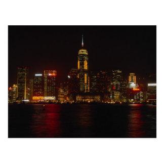 Downtown Hong Kong from Kowloon Postcard