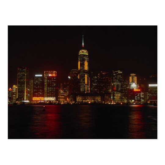 Downtown Hong Kong from Kowloon Postcard
