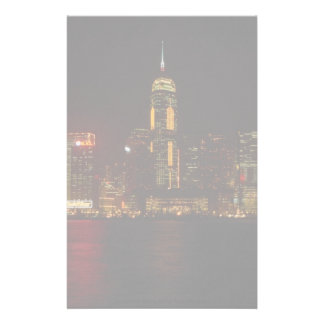 Downtown Hong Kong from Kowloon Customized Stationery