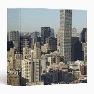 Downtown Houston 2 Vinyl Binders