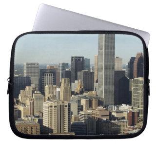 Downtown Houston 2 Laptop Sleeves