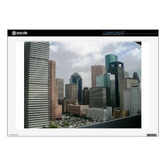 Downtown Houston Laptop Decals