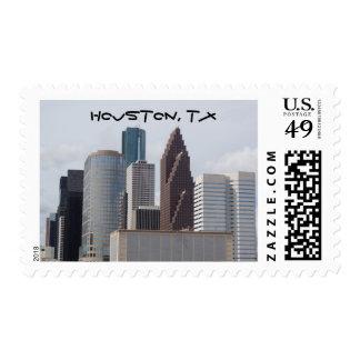 Downtown Houston Stamp