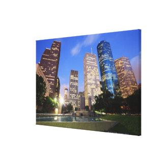 Downtown Houston Texas Canvas Print