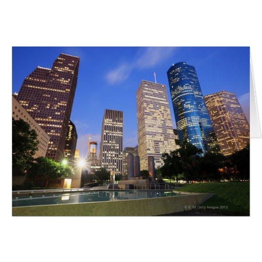 Downtown Houston, Texas Card