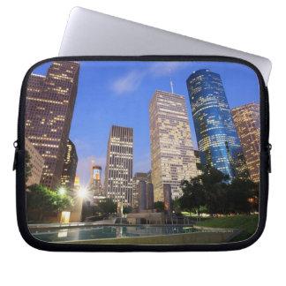 Downtown Houston, Texas Laptop Computer Sleeves