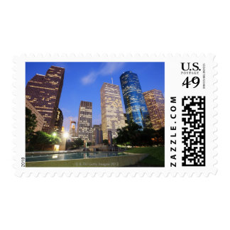 Downtown Houston, Texas Postage