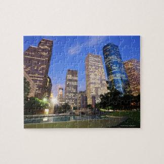 Downtown Houston, Texas Jigsaw Puzzles