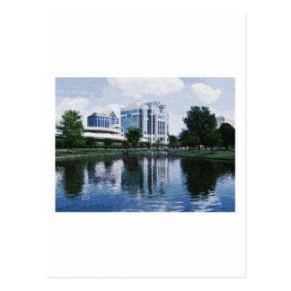 Downtown Huntsville, Alabama Postcard