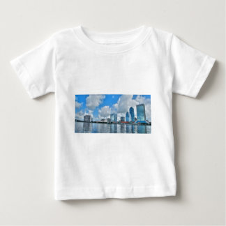 Downtown Jacksonville business district Baby T-Shirt