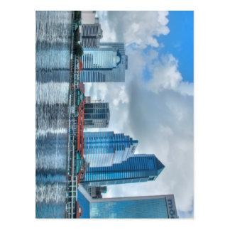 Downtown Jacksonville business district Postcard