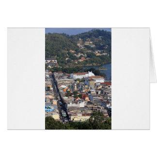 Downtown Kandy, Sri Lanka Greeting Card