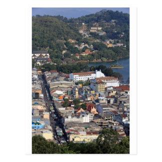 Downtown Kandy, Sri Lanka Postcard