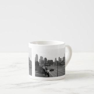 Downtown Kansas City 6 Oz Ceramic Espresso Cup