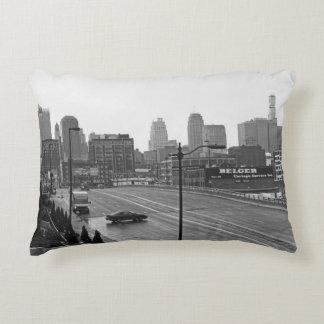 Downtown Kansas City Accent Pillow