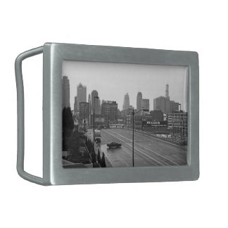 Downtown Kansas City Belt Buckle