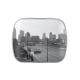 Downtown Kansas City Jelly Belly Candy Tin