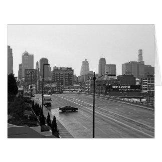 Downtown Kansas City Greeting Cards
