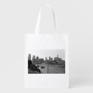 Downtown Kansas City Grocery Bag