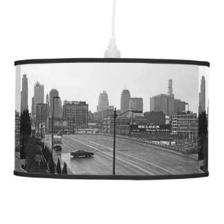 Downtown Kansas City Hanging Lamp