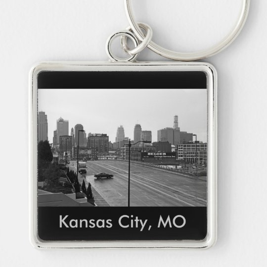 Downtown Kansas City, Kansas City, MO Keychain