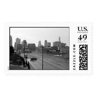 Downtown Kansas City – Large stamp