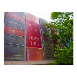 Downtown Kansas City Library Books Parking Garage Postcard