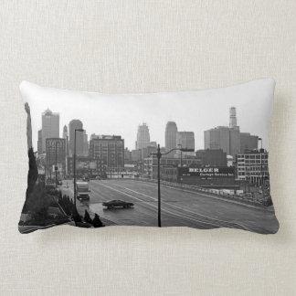 Downtown Kansas City Lumbar Pillow