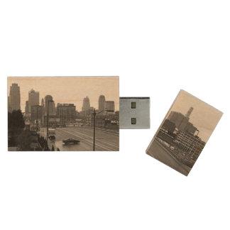 Downtown Kansas City Maple Flash drive