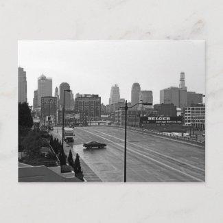 Downtown Kansas City postcard