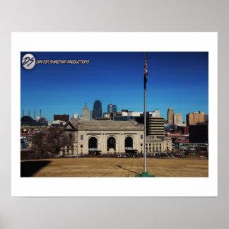 Downtown Kansas City Poster