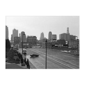 Downtown Kansas City Skyline Acrylic Wall Art