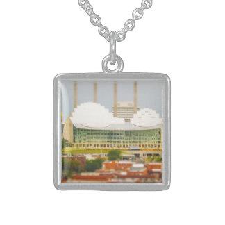 Downtown Kansas City Tilt-Shift Miniature Photo Necklace
