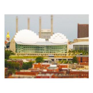 Downtown Kansas City Tilt-Shift Miniature Photo Postcard