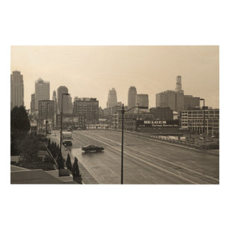 Downtown Kansas City Wood Canvases
