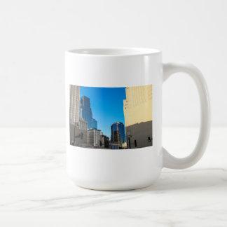 downtown kc classic white coffee mug